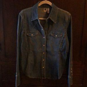 Woman's Jean Shirt